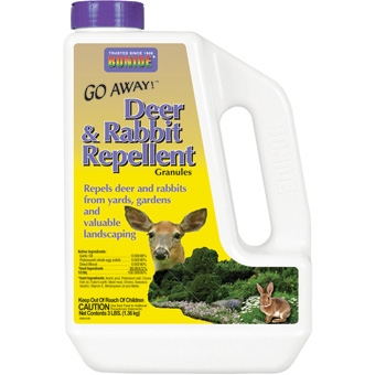 Bonide® Go Away!™ Deer & Rabbit Repellent (3# Granules)