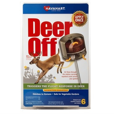 Havahart® Deer Off® Waterproof Repellent Station (12/Pack)