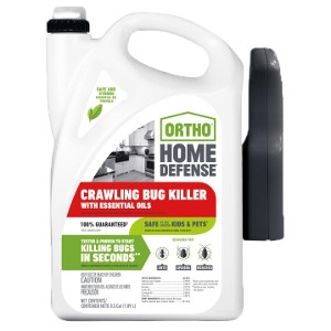 Ortho® Home Defense® Crawling Bug Killer with Essential Oils RTU 1/2 Gallon