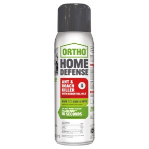 Ortho® Home Defense® Ant & Roach Killer with Essential Oils 14oz Aerosol