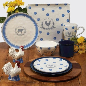 Urban Farmhouse Tableware Set A by Susan Winget