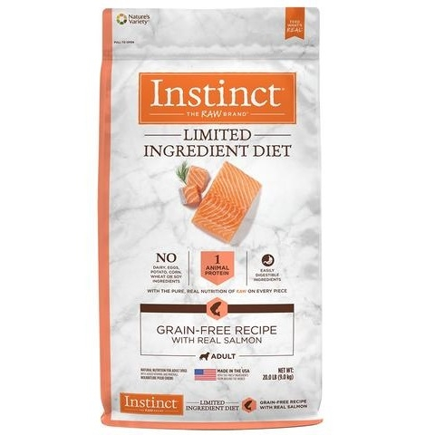Nature's Variety Instinct Limited Ingredient Adult Diet Grain Free Natural Dry Dog Food