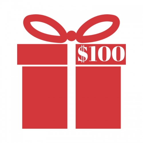 Enter to win a $100 gift card with your purchase!