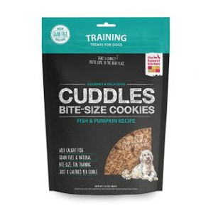 Cuddles Fish & Pumpkin Cookies for Dogs