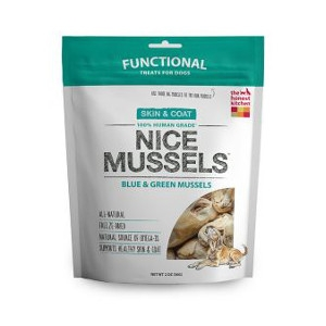 Nice Mussels Freeze-Dried Mussels for Dogs