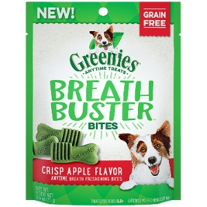 GREENIES™ BREATH BUSTER™ Bites Crisp Apple Flavor Treats for Dogs