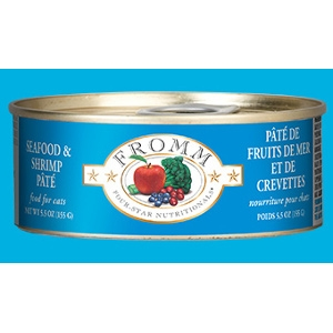 Fromm Four-Star Seafood & Shrimp Pâté for Cats