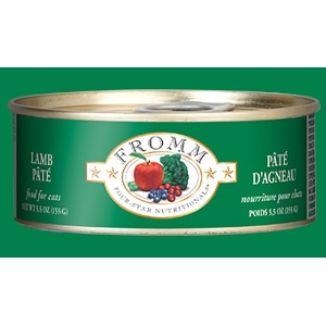 Fromm Four-Star Lamb Pâté for Cats