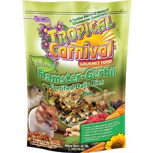 Tropical Carnival® Natural Hamster-Gerbil Fortified Daily Diet 2 lb.