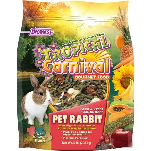 Tropical Carnival® Gourmet Pet Rabbit Food 5 lb.