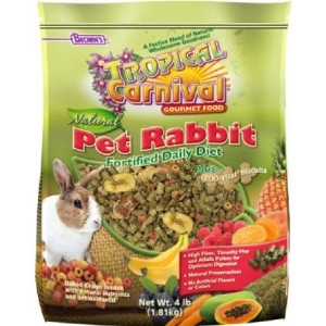 Tropical Carnival® Natural Pet Rabbit Fortified Daily Diet 4 lb.