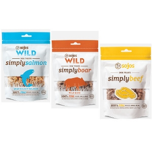 Sojos Simply Meat Dog Treat - B2G1 FREE
