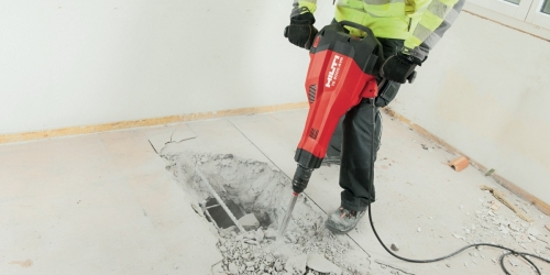 Hiliti TE 2000 Electric Pavement Breaker