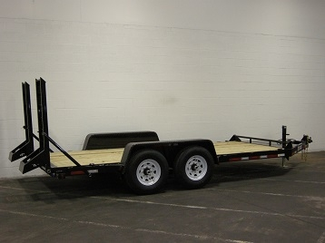 10,000LB and 12,000LB Equipment Trailers