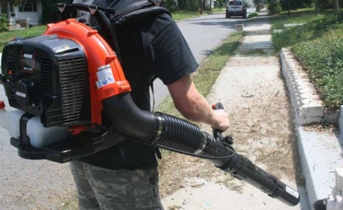 GAS POWERED BACK PACK BLOWER