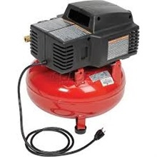Pancake Compressor 135 PSI RED