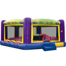 Rock & Roll Joust Bounce House