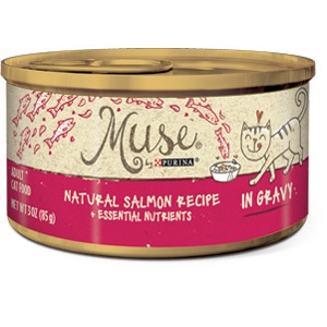 Muse by Purina natural Salmon Cat Food Recipe