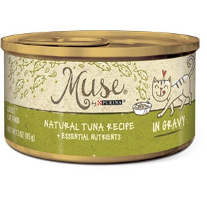 Muse by Purina natural Tuna Cat Food Recipe