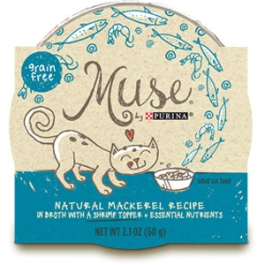 Muse by Purina natural Mackerel Cat Food Recipe