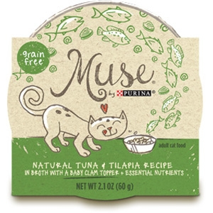 Muse by Purina natural Tuna & Tilapia Cat Food Recipe