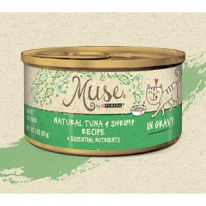 Muse by Purina natural Tuna & Shrimp Cat Food Recipe