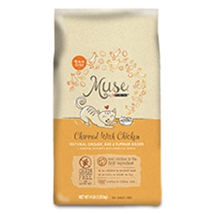 Muse by Purina Charmed with Chicken Cat Food Dry Recipe