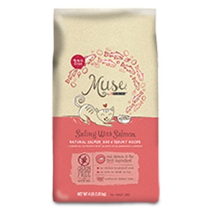 Muse by Purina Sailing with Salmon Cat Food Dry Recipe