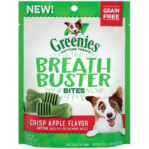GREENIES™ BREATH BUSTER™ Bites Crisp Apple Flavor Treats for Dogs 5.5 oz.