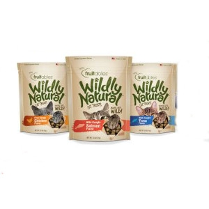 Wildly Natural® Salmon Treats for Cats