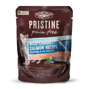 Castor and Pollux Pristine Grain Free Wild Caught Salmon Morsels