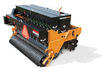Woods 3-point Broadcast Seeder