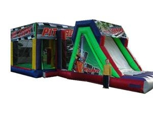 Pit Crew Combo Bounce House