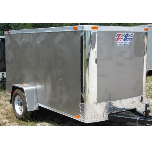 Team Spirit 5x8 Enclosed Trailer
