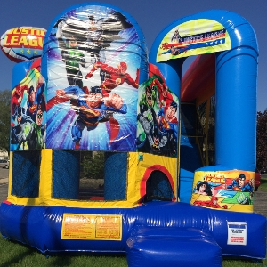 Justice League Backyard Bouncer
