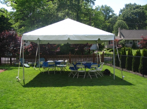 Anchor 15' x 15' Frame Tent