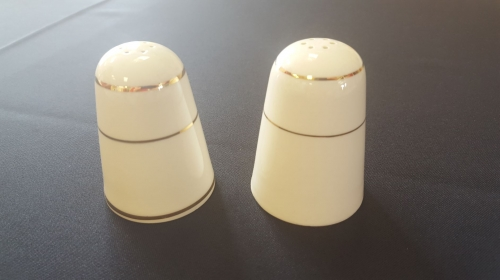 Ivory Dinnerware Salt & Pepper Shakers