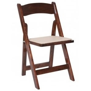 Wood Folding Chairs (Fruitwood)