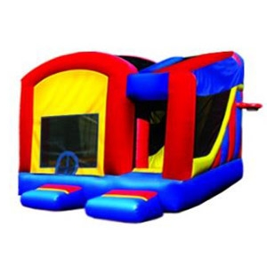 e-Inflatables 5 in 1 Funhouse Inflatable Combo