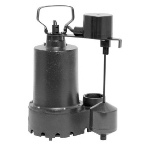 1/3 HP Cast Iron Sump Pump: $89.99