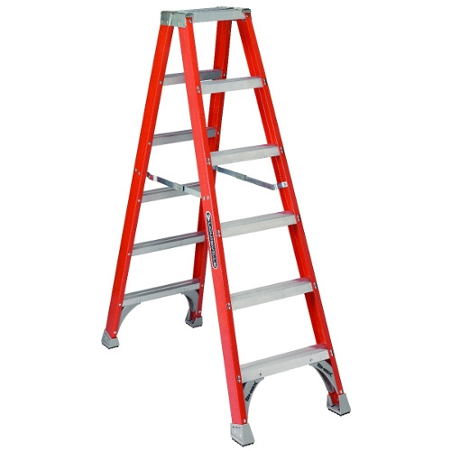 6-Foot Fiberglass Stepladder