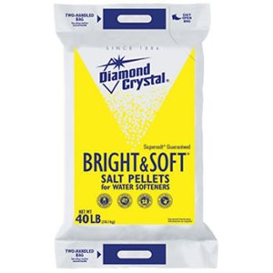 40lb. Diamond Crystal Water  Softener Salt