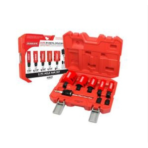 9 Pc. Bi-Metal Hole Saw Set