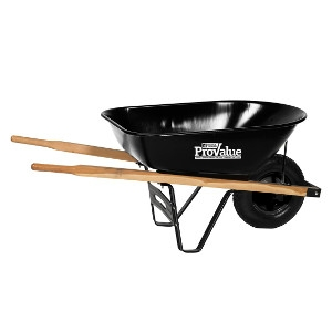 ProValue 6 Cu.Ft. Wheelbarrow