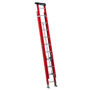 20' Type 1A Fiberglass Extension Ladder