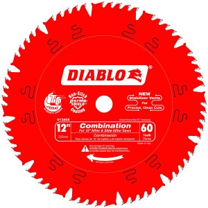 12 IN. X 60 Tooth Combination Saw Blade