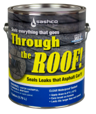 Through The Roof Clear Sealant