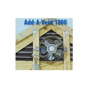 Gable Power Vent