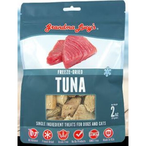 Freeze-Dried Tuna Single Ingredient Treats for Dogs and Cats