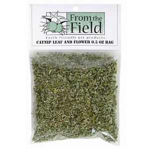 From the Field Catnip Lead and Flower Bags 0.5 oz